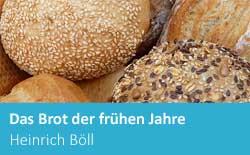 Das Brot der fruhen Jahre, essays, summary